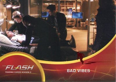 The Flash Season 2 Red Scarlet Speeder Stamped Parallel Base Card #34