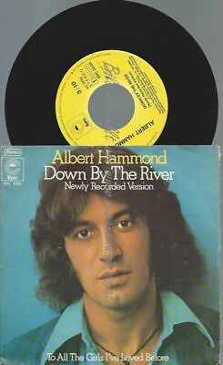 "7""  Albert Hammond ‎– Down By The River"