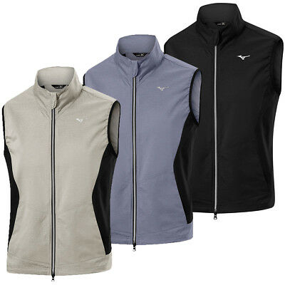 Mizuno Golf Mens 2018 Extremely Lightweight Stretch Pack Away Vest 25% OFF RRP