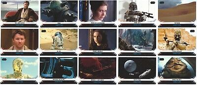 2013 Topps Star Wars Jedi Legacy Connections Insert You Pick Finish Your Set