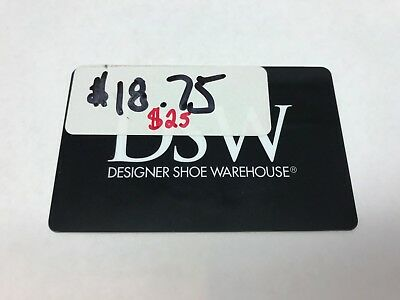 Gift Card Dsw Shoes 25 Value