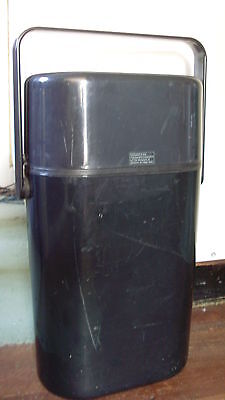1980s INSULATED DECOR BYO DRINKS CHILLER * BLACK/BLACK * NRL PENRITH PANTHERS