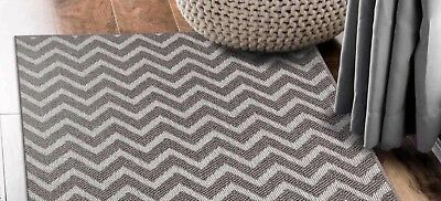 Hallway Runner Hall Runner Rug Modern Grey 3 Metres Long x 80cm  Elite 0035