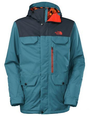 The North Face Men's Dish Cosmic Blue Rufus Insulated Full Zip Ski Jacket