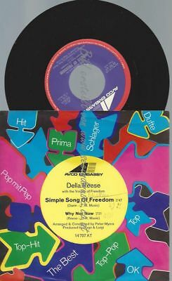 """7""""  Della Reese  – Simple Song Of Freedom"""