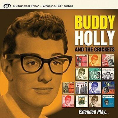 Buddy Holly & The Crickets Extended Play – 31 Original EP Sides Peggy Sue + More