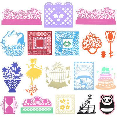 Metal Cutting Dies Stencil Scrapbook Paper Card Craft DIY Die-Cut Handmade Craft