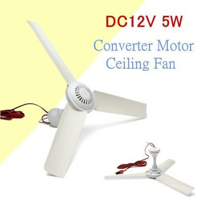 Ventilateur de Plafond Brushless Converter Motor Battery Mini Ceiling Fan 12V 5W