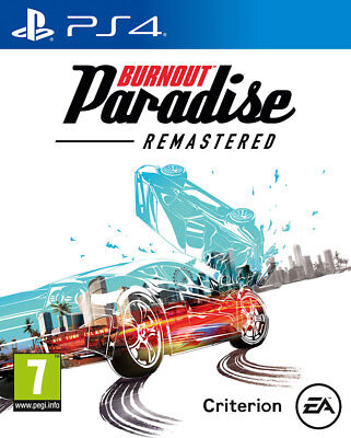 Burnout Paradise Remastered (PS4)  NEW AND SEALED - IN STOCK - QUICK DISPATCH