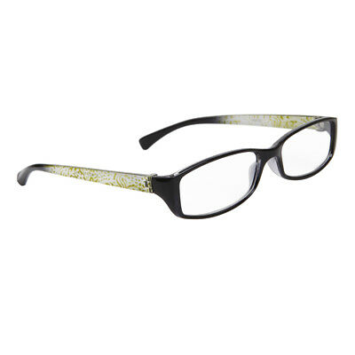 51ce030fdb14 Reading Glasses +1.75 New Fashion Designer Readers Women Black Green  R55175GRN