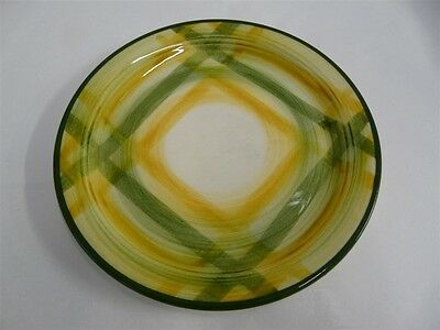 Vernonware Gingham Green Plaid Spring Green Bread & Butter Plate 6 1/2""