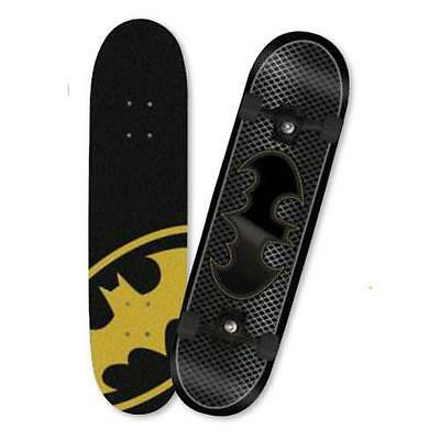 MV Sports M02151 Batman Childrens Rubber Wheeled Skateboard Double Kick Tail New