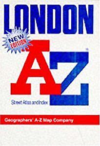"A. to Z. Atlas of London: 1m-3"" (London Street Atlases), Geographers A-Z Map Com"