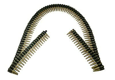 Realistic Bullet Belt Bandolier Rifle Bullets Shells Soldier Military Toy 60""