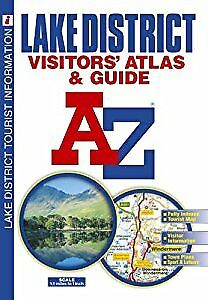 Lake District Visitors Atlas (A-Z Road Maps & Atlases), Geographers a-Z Map Comp
