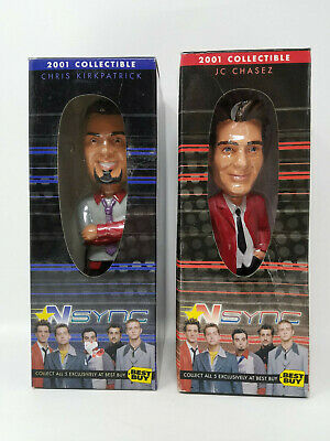 NSYNC 2001 best Buy Collectible Bobble Head Doll - Chris Kirkpatrick