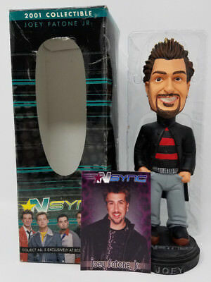 Best Buy 2001 Collectible JOEY FATONE JR, NSYNC Bobble Head Complete