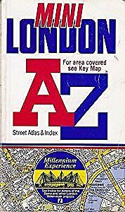 A to Z of London Mini Street Atlas, Geographers A-Z Map Company, Used; Good Book