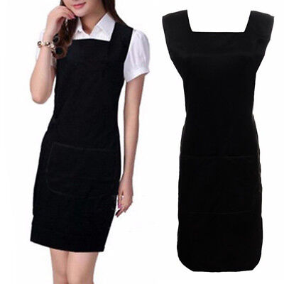 Black Salon Hairdressing Hair Cutting Apron Cape for Barber Practical Cloth Gown