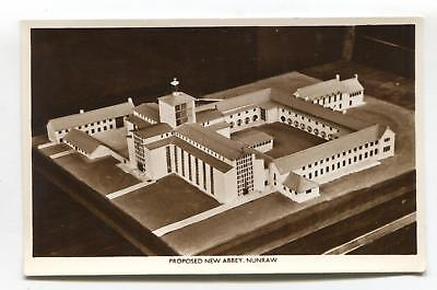 Nunraw - model of proposed new abbey - old East Lothian postcard
