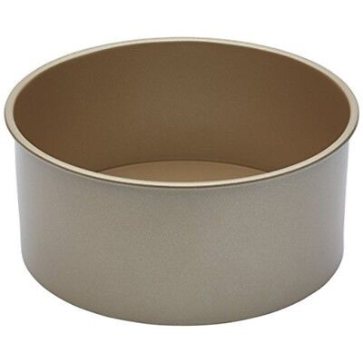 Paul Hollywood By Kitchencraft Non-stick Deep Round Cake Tin With Loose Base, -