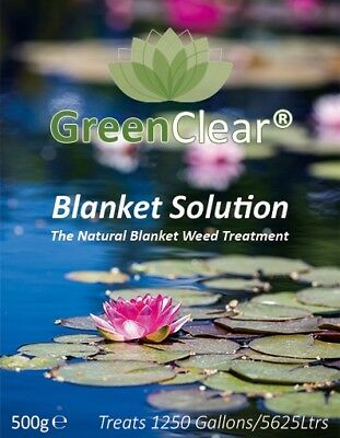 GreenClear Blanket Solution Your Answer to No More Pond Blanketweed Fish Algae