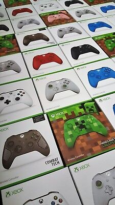 Official Xbox One Wireless Controller 3.5Mm - Factory Sealed- Uk Stock- Free P&p