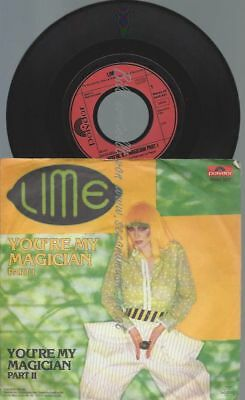 """7""""  Lime  – You're My Magician"""