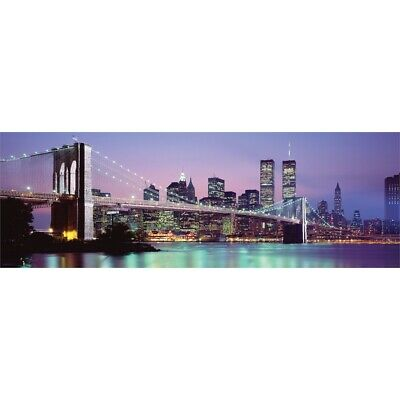 Golden New York Door Vista Poster 158cm x 53cm new & sealed