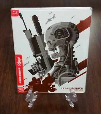 Terminator 2 Judgment Day Best Buy Exclusive Mondo X Steelbook Blu-ray.