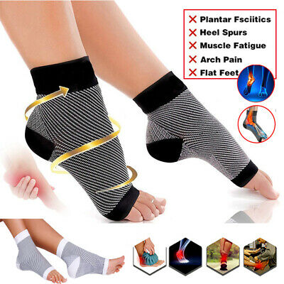 Ankle Compression Socks Support Stockings Graduated Men s Women s Foot Brace  SFC 447864508d
