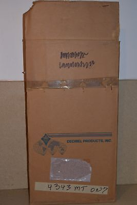 Decibel Products Db4015-2 136.38Mhz Bandpass Filter Cavity -New In Box (A1)
