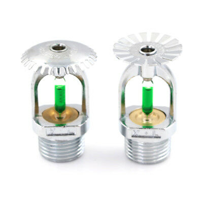 93℃ Upright Pendent  Sprinkler Head For Fire Extinguishing System Protection UK