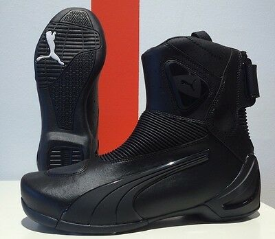 PUMA 450 motorcycle shoes, black, BRAND NEW LAST PAIRS IN STOCK!!!