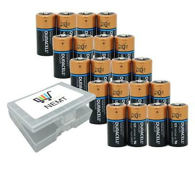 20 Duracell CR 123 in NEMT Box Ultra Lithium Foto CR17345 DL123A Foto Batterie U