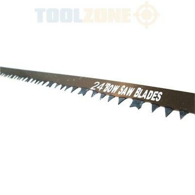 "24"" Toolzone Bowsaw Blade - 24 Spare Replacement Bow Saw Sharp Tree Wood Branch"