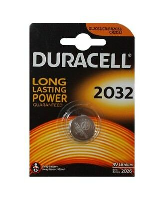 Pila Boton de Litio 3V Duracell CR 2032 Bateria Larga duraccion