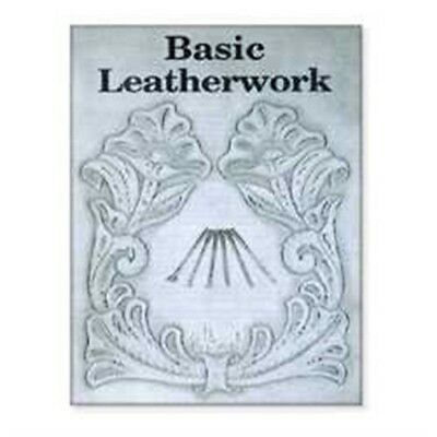 Basic Leatherwork Guide Book - Carving Leathercraft How Tandy 600800
