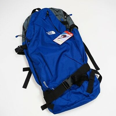 9f6ae6fb8 $160 THE NORTH Face Snomad 34 Ski Touring Backpack Size L/XL Blue NEW