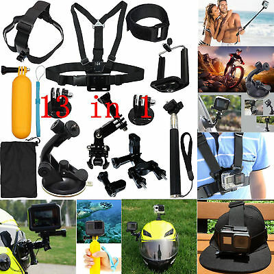 Accessories Starter Kit for Gopro Hero 6/fusion/5/Session/4/3/2/HD/HERO+ Cameras