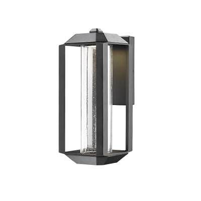 Artcraft Lighting AC9101BK Wexford 1-Light LED Outdoor Wall Sconce
