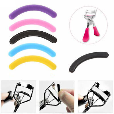 6/12/18/24/30pcs/set Eyelash Curler Replacement Pad Refill Eyelash Circle Cosmet