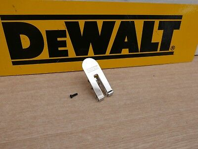 Dewalt Belt Clip Hook & Screw For Xr 18V Dcf620 Drywall Gun N435687