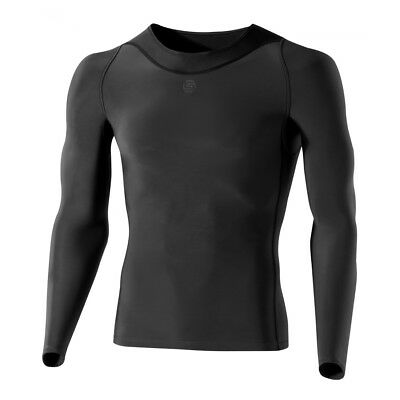 Skins RY400 Men's Long-Sleeve Compression Top Graphite XXL