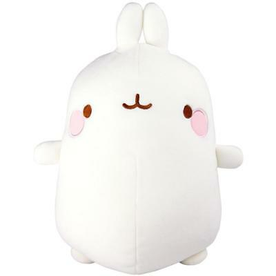 Molang L66028 Tomy Bedtime Super Squeeze Soft/Stetchy and Cuddly Plush Toy - Wht