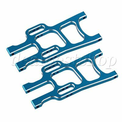 2x  Blue 108019 Alloy Front Lower Suspension Arm for RC 1:10 HSP 94108 Model Car