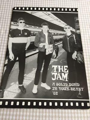 Tour Programme The Jam A Solid Bond In Your Heart 1982 Paul Weller - # 1