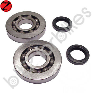 Crankshaft Bearing Kit inc Seals Piaggio Hexagon 125 2T LX (1998-2000)