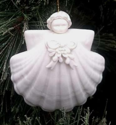 "Margaret Furlong 3"" Porcelain Mistletoe Angel BRAND NEW Free Shipping"