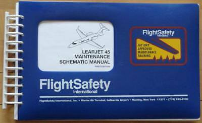 Learjet 45 Maintenance Schematic Manual Flight Safety Int Bombardier MM-310